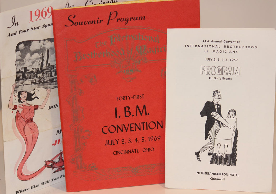 Souvenir Program Book  -  Forty-First I.B.M. Convention Book 1969 Plus Extras