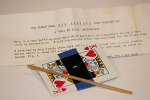 The Sensational New Century Card Penetration  -  Will De Seive