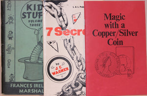 Kid Stuff Vol.3  -   7 Secrets  -  Magic with a Copper/Silver Coin