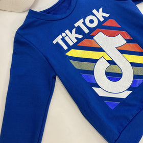 SUDADERA TIK TOK COLOR