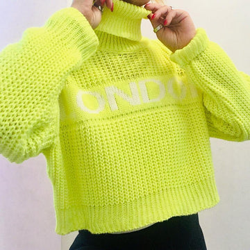 JERSEY LONDON FLUOR CUELLO ALTO
