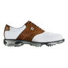 Zapato FootJoy DryJoy Tour White/Brown Oferta