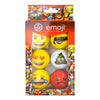 Pelota Emoji 6pk Novelty- Assorted
