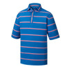Playera FootJoy ProDry Performance Lisle Ope Stripe - Self Collar Hombre