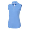 Playera FootJoy ProDry Interlock Sleeveless, Knit Collar Mujer
