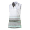 Polo Puma Sleeveless Road Map Mujer