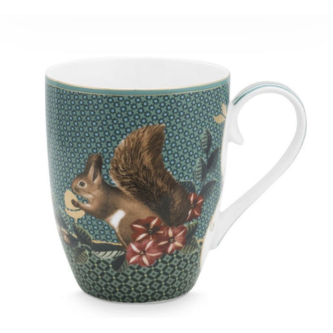 Pip Studio Winter Wonderland Squirrel Mug (large) (5932116246694)