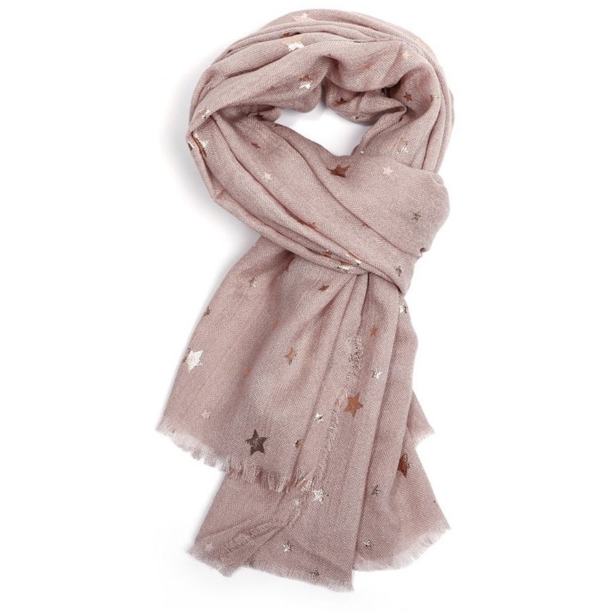 Miss Sparrow Star Scarf - Pink (5898905485478)