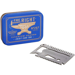 Gentlemen's Hardware Credit Card Tool Kit (4552871903364)