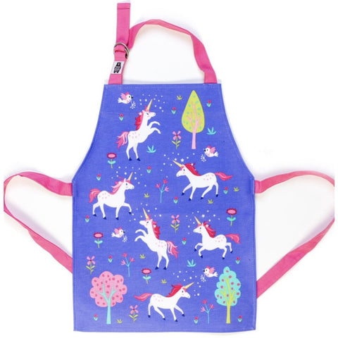 ThreadBear Designs Unicorn Apron (5787303772326)