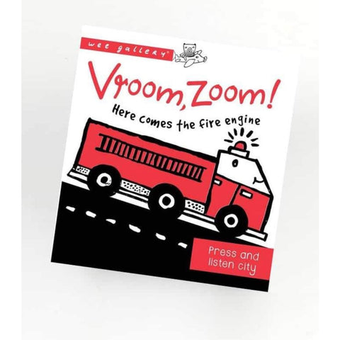 Wee Gallery: Vroom Zoom! Press and Listen Sound Book (5766936625318)