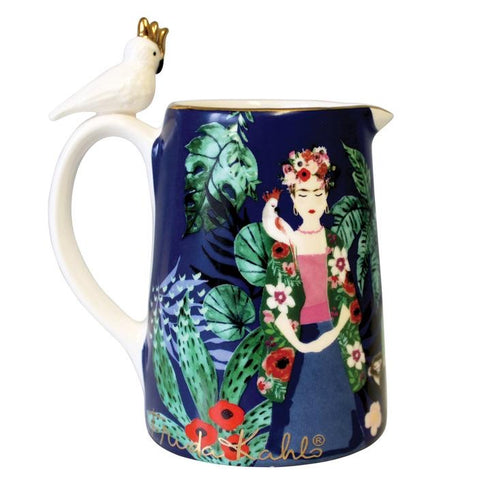Frida Kahlo Tropical Jug (5548795691174)