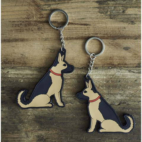 Sweet William Key Ring - German Shepherd (5925251481766)