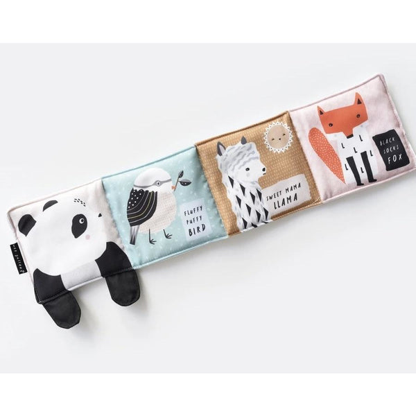 Wee Gallery Baby's First Soft Book - Panda (5956515758246)