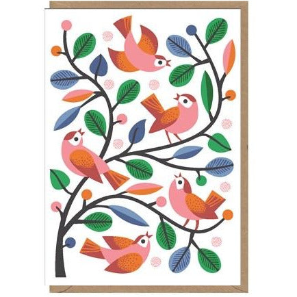 Nadia Taylor Little Birds Card (6085290786982)