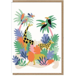 Nadia Taylor Jungle Birthday Card (6085278728358)