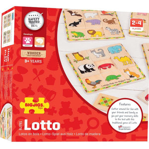 Bigjigs Toys Lotto Game (4123029766189)