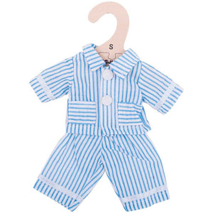 Bigjigs Toys Dolls Blue Pyjamas (1511645151277)