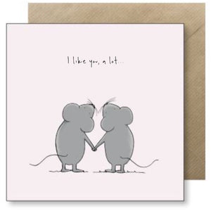 Lucy Driver I Like You Card (4508219441284)