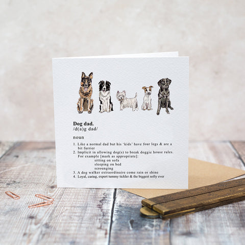 Toasted Crumpet Dog Dad Card (4701100474500)