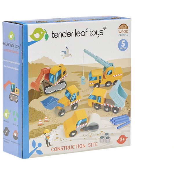 Tender Leaf Toys Construction Site Set (5787908833446)