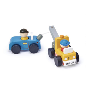 Tender Leaf Toys Wooden Tow Truck Set (5787854176422)