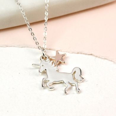 Peace of Mind Unicorn Necklace (4546915926148)