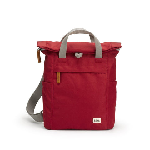 Finchley Sustainable Backpack - Volcanic Red (6616438145190)