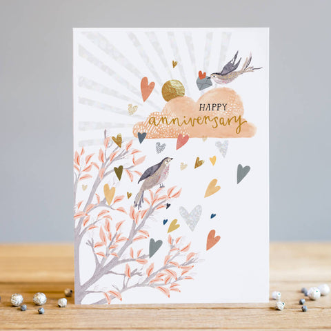 Louise Tiler Happy Anniversary Card (6085460459686)