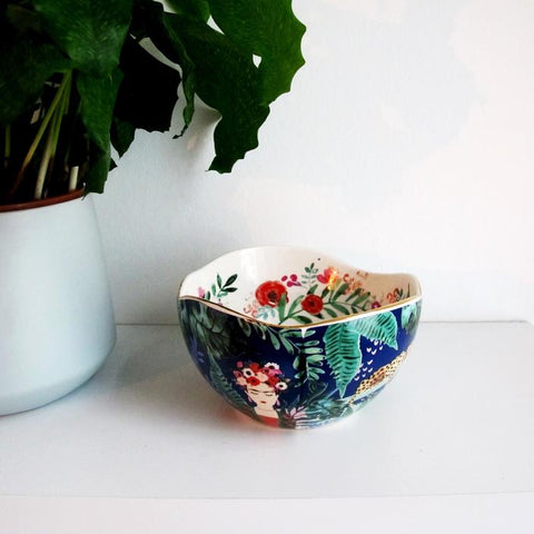 Frida Kahlo Tropical Bowl (5548849594534)