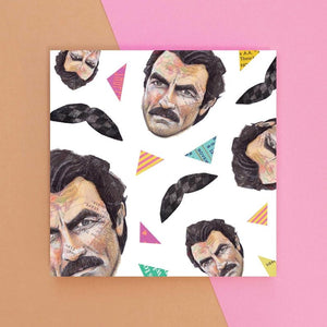 Angie Beale Tom Selleck Card (6079949832358)