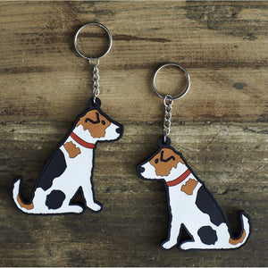 Sweet William Key Ring - Jack Russell (5925265834150)