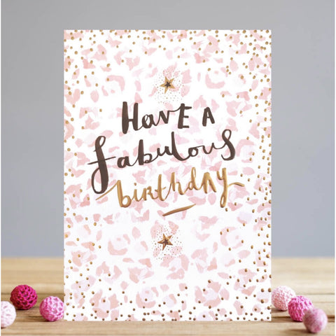 Louise Tiler Fabulous Birthday Card (5820310093990)