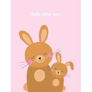 Bunny Baby Girl Card (6085254545574)