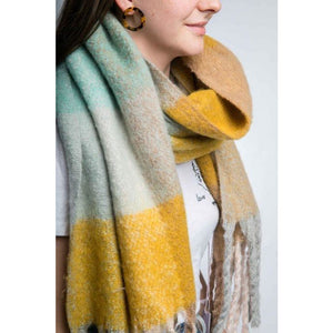 Miss Sparrow Meg Scarf (yellow) (4354973663364)