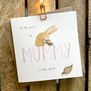 Ginger Betty Best Mummy Card (6154140254374)