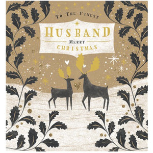 Finest Husband Christmas Card (5933916848294)