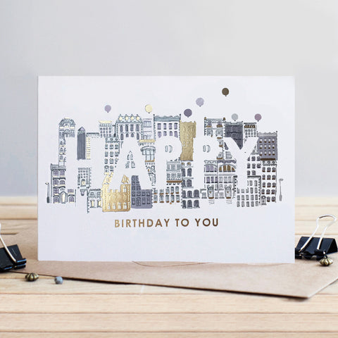 Louise Tiler City Birthday Card (4697509396612)