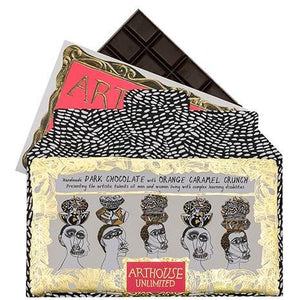 Arthouse Unlimited Handmade Dark Chocolate with Orange Caramel Crunch (4713101459588)