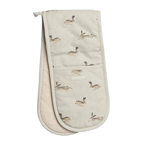 Sophie Allport Hare Double Oven Glove (6125157613734)