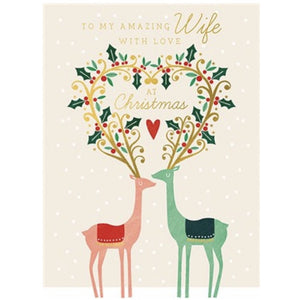 Amazing Wife Christmas Card (5933882114214)