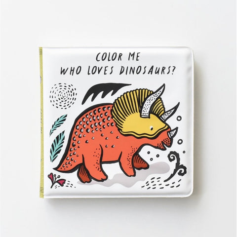 Wee Gallery Dinosaur Bath Book (5766915227814)