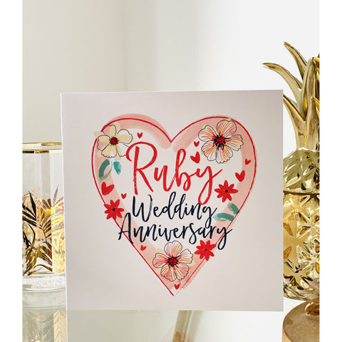Katie Phythian Ruby Anniversary Card (6141437247654)