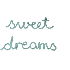 Bombay Duck Wire Rope Word - Sweet Dreams (6130556633254)