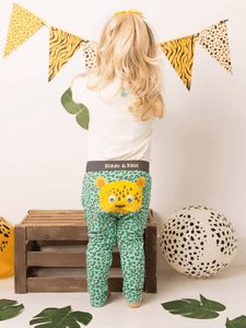 Cheetah Cotton Leggings (6605513916582)