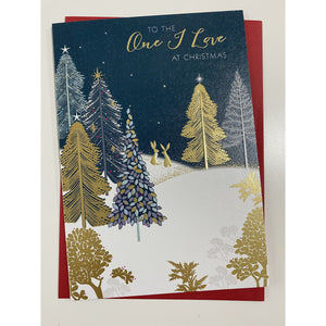 Sara Miller 'To the One I Love' Christmas Card (4374126231684)