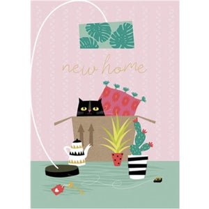 Artfile Cat New Home Card (6078318215334)
