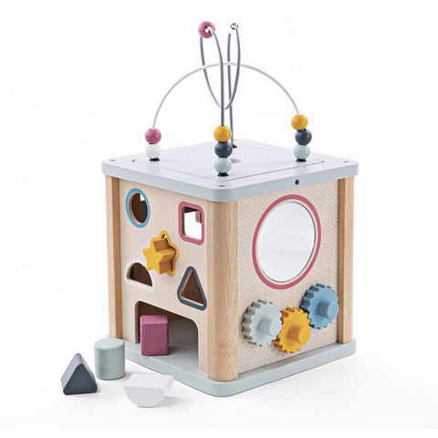 Bigjigs Toys Activity Cube (5963520737446)