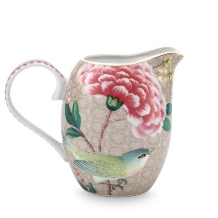 Pip Studio Blushing Birds Jug - Khaki (6067162710182)
