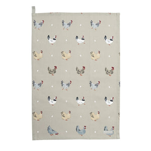 Sophie Allport Lay A Little Egg Tea Towel (6125177864358)
